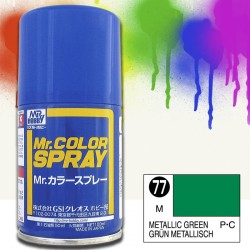 Mr Color Spray 100ml Verde Metal