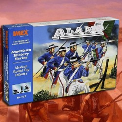 1/32 Mexican Round Top Infantry (Alamo)