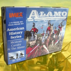 Mexican Cavalry At The Alamo (1/72)