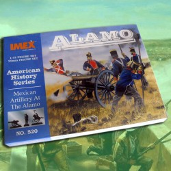 Mexican Artillery At The Alamo (1/72)