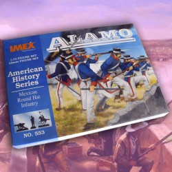 1/72 Mexican Round Hat Infantry (Alamo)