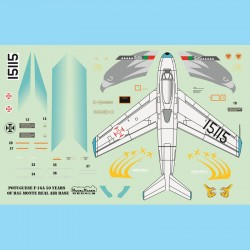 1/72 Portuguese F-16A 50 Years of BA5 Monte Real Air Base