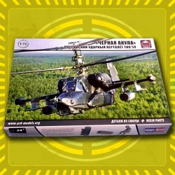 Kamov KA-50 Black Shark Russian Attack Helicopter 1/72