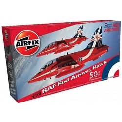 1/72 RAF RED ARROWS HAWK