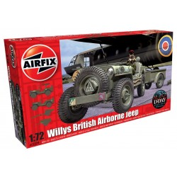 Willys British Airborne Jeep (1/72)