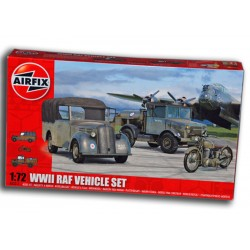 WWII RAF VEHICLE SET (1/72)