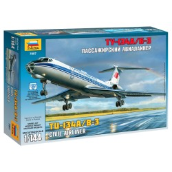 Tu-134A/B-3 Civil Airliner (1/144)