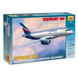 1/144 Superjet 100 Regional Civil Airliner