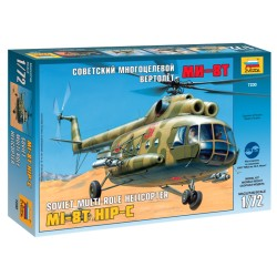 Soviet Multi-Role Helicopter Mi-8T Hip C (1/72)