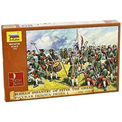 1/72 Russian Infantry of Peter the Great 1698-1725