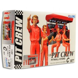 Garage & Tools - F1 Pit Crew Pitwall Stand (1/20)
