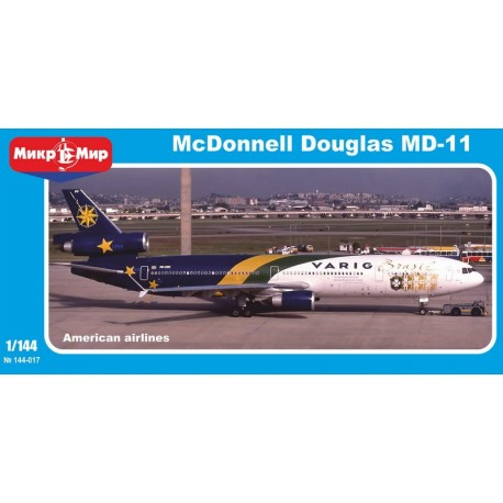 McDonnell Douglas MD-11 (The airlines of America) (1/144)