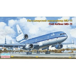 Civil airliner MD-11 KLM (1/144)