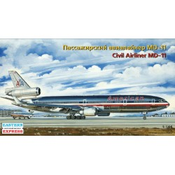 Civil airliner MD-11 GE American Airlines (1/144)