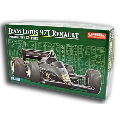 Team Lotus 97T Renault Portuguese GP 1985 (1/20)
