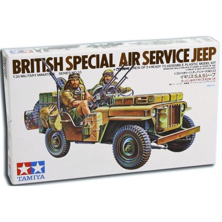 British Special Air Service Jeep (1/35)