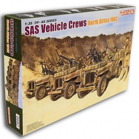 SAS Vehicle Crews North Africa 1942 (1/35)