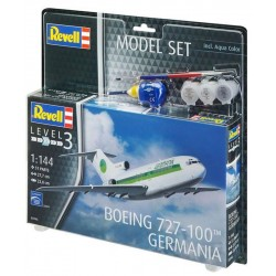 Model Set Boeing 727-100 GERMANIA (1/144)