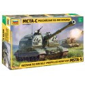 Russian 152 mm Self-Propelled Howitzer MSTA-S (1/35)