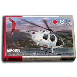 MD-500E Helicopter (1/72)