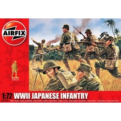 1/72 WWII Japanese Infantry