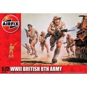 WWII British 8th Army (1/72)