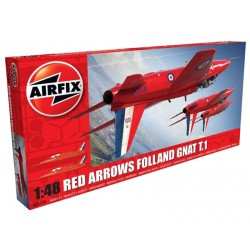1/48 Red Arrows Folland Gnat T.1