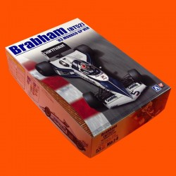 1/20 Brabham BT52 '83 Monaco GP version