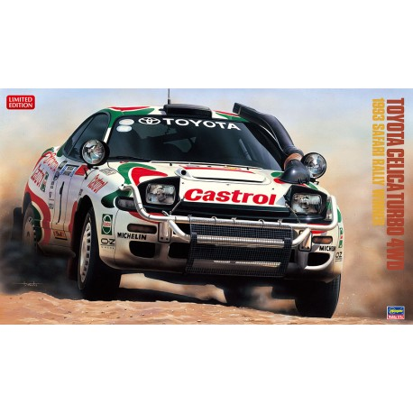 1/24 Toyota Celica Turbo 4WD 1993 Safari Rally Winner Limited Edition