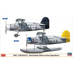 SOC-3 Seagull Battleship Squad (2 kits) Limited Edition (1/72)