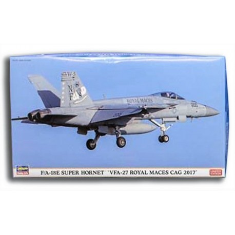 F/A-18E Super Hornet 'VFA-27 Royal Maces CAG 2017' (1/72)