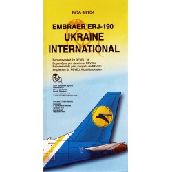 1/144 UKRAINE INTERNATIONAL Embraer ERJ-190