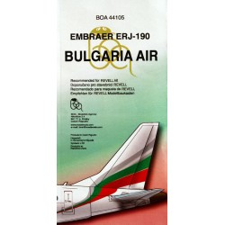 BULGARIA AIR Embraer ERJ-190 (1/144)