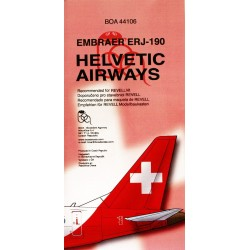 1/144 HELVETIC AIRWAYS Embraer ERJ-190