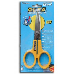 "Olfa 7"" Stainless Steel Serrated Edge Scissors"