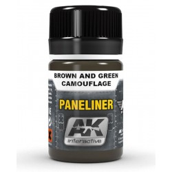 Paneliner for Brown and Green camouflage