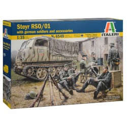STEYR RSO/01 with GERMAN SOLDIERS (1/35)