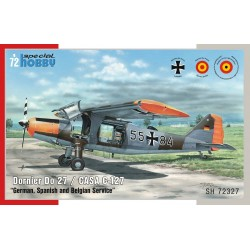 "1/72 Dornier Do 27 ""German, Spanish and Belgian Service"""