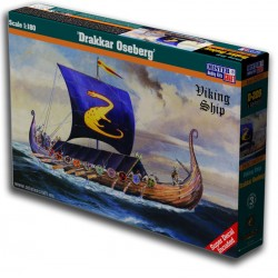 1/180 Drakkar Oseberg Viking ship
