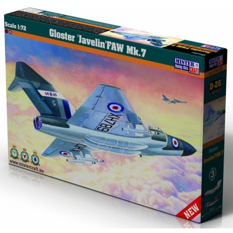 1/72 Gloster Javelin FAW MK.7