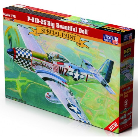 1/72 P-51D-25 Big Beautiful Doll