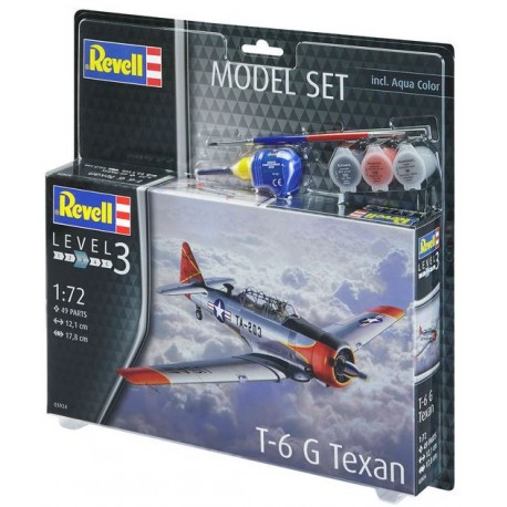 1/72 Model Set T-6 G Texan