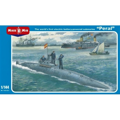 "1/144 The world's first electric battery-powered submarine ""Peral"""