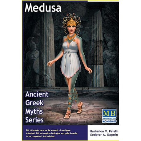 1/24 Medusa - Ancient Greek Myths Series
