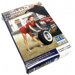 1/24 Pin-up series - A short stop - Kit Nº 3
