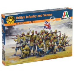 BRITISH INFANTRY AND SEPOYS (1/72)