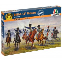 BRITISH 11th HUSSARS (1/72)