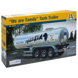 "CLASSIC TANK TRAILER ""We are family"" (1/24)"