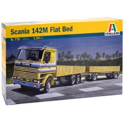 1/24 SCANIA 142M FLAT BED