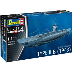 German Submarine Type IIB (1943) 1/144